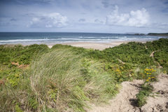 White Park Bay, County Antrim. Northern Ireland royalty free stock photography