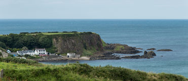 White Park Bay, County Antrim. Northern Ireland. One of the best beaches of the United Kingdom royalty free stock image