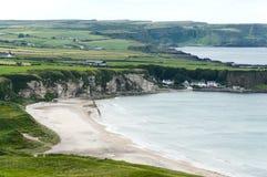 White Park Bay, County Antrim Stock Photos