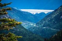 White pass mountains in british columbia Royalty Free Stock Photo