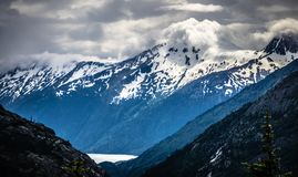 White pass mountains in british columbia Royalty Free Stock Photography