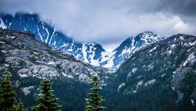 White pass mountains in british columbia Stock Photos