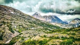 White pass mountains in britishcolumbia Stock Photo