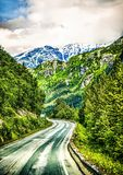 White pass mountains in britiscolumbia Royalty Free Stock Images