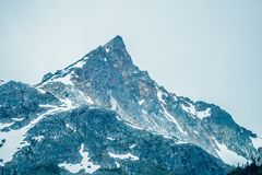 White pass mountains in britishcolumbia Stock Images
