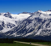 White Pass in St.Elias Mountains Stock Photography
