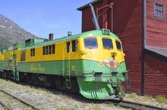 White Pass and Yukon Railway Stock Images