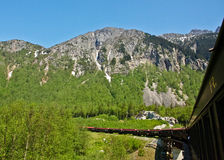 White Pass and Yukon Route Railroad Royalty Free Stock Images