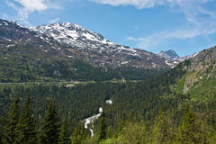 White Pass and Yukon Route Railroad Stock Image
