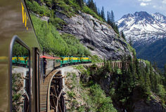 White Pass & Yukon Route Railroad Royalty Free Stock Photo