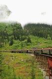 White Pass & Yukon Route. White Pass & Yukon Route Scenic Railway of the World Stock Photography