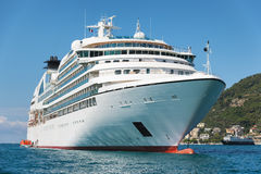 White passenger ship Stock Image