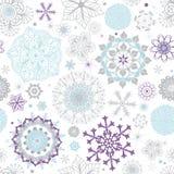 White pastel seamless Christmas pattern stock photo