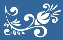 White pattern Royalty Free Stock Image