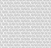White Pattern Hexagon Mosaic Royalty Free Stock Photography