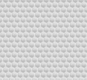 White Pattern Hexagon Mosaic Stock Image