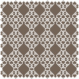 White pattern in islamic style Stock Image
