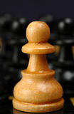 White Pawn Royalty Free Stock Photo