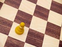 White pawn Royalty Free Stock Image