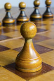 White pawn Stock Images
