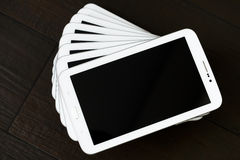 White pc tablet Stock Images