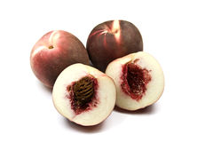 White Peaches Stock Photography