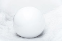 White pearl Royalty Free Stock Image