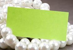 White pearl Royalty Free Stock Photo