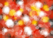 white pearl luxury blur red hot background Royalty Free Stock Photo
