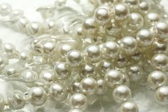White pearl Stock Images