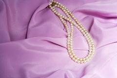 White pearls Royalty Free Stock Image