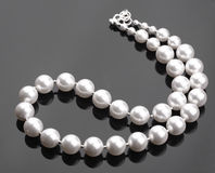 White Pearls Stock Photos