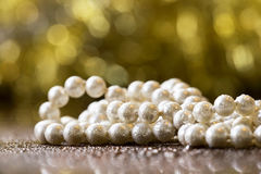 White pearls Royalty Free Stock Photo