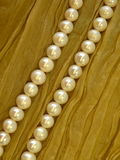 White pearls royalty free stock photos