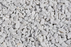 White pebble Stock Images