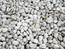 White pebble pavement texture Stock Photos