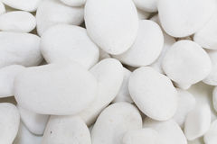 White pebble stones zen. White pebble stones concept for horticulture and zen stock photos