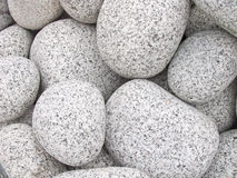 White pebbles Stock Images