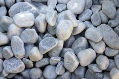 White pebbles Stock Photo