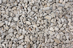 White pebbles Royalty Free Stock Photos