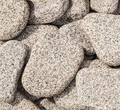 White pebbles Stock Photography