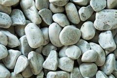 White pebbles or gravel Stock Photos