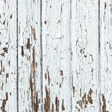 White Peeled Planks Royalty Free Stock Photos