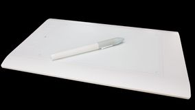 White Pen graphics tablet Royalty Free Stock Photos