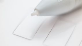 White Pen graphics tablet Stock Images