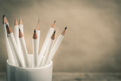 White pencil Stock Images