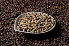 White pepper background Stock Image