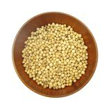 White pepper peppercorns Royalty Free Stock Photo
