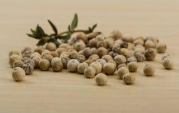 White pepper seeds Stock Photos
