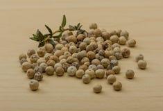 White pepper seeds Stock Photo